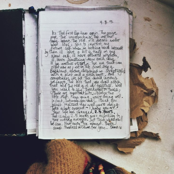 JOURNAL: First Page Wisdom