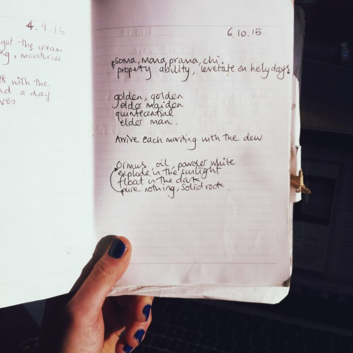JOURNAL: Levitate On Holy Days
